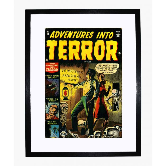 Image for Adventures into Terror 11 framed print