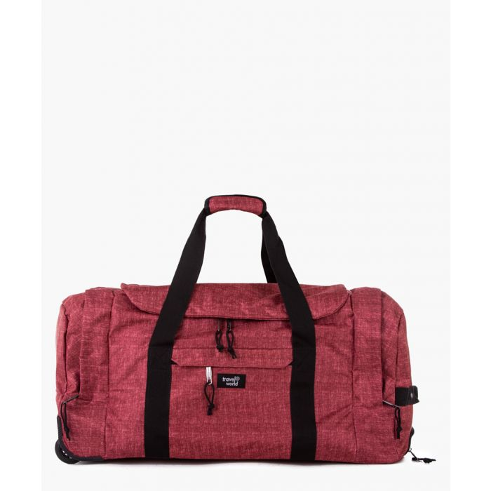 Image for Red weekend holdall
