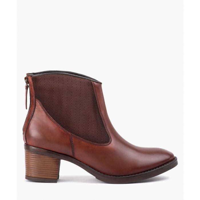 Image for Brown strap ankle boots