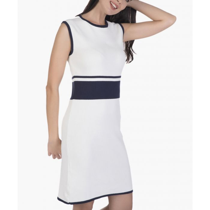 Image for Ecru cotton dress