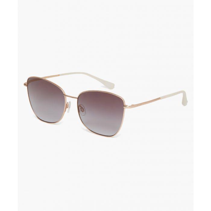 Image for Ariel gold-tone sunglasses