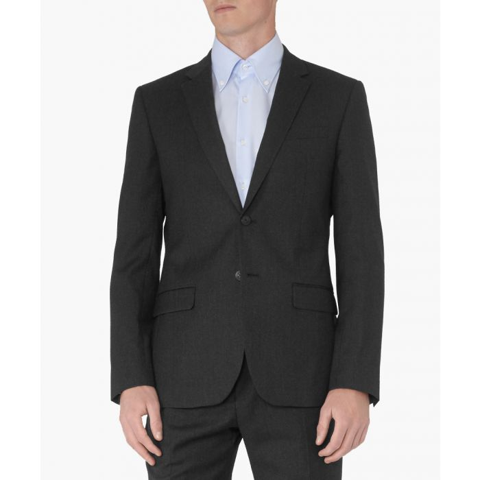 Image for Lester charcoal pure wool blazer