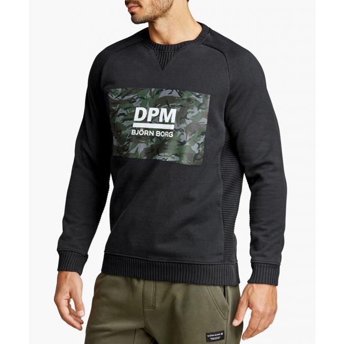 Image for Multi-coloured cotton blend crewneck jumper