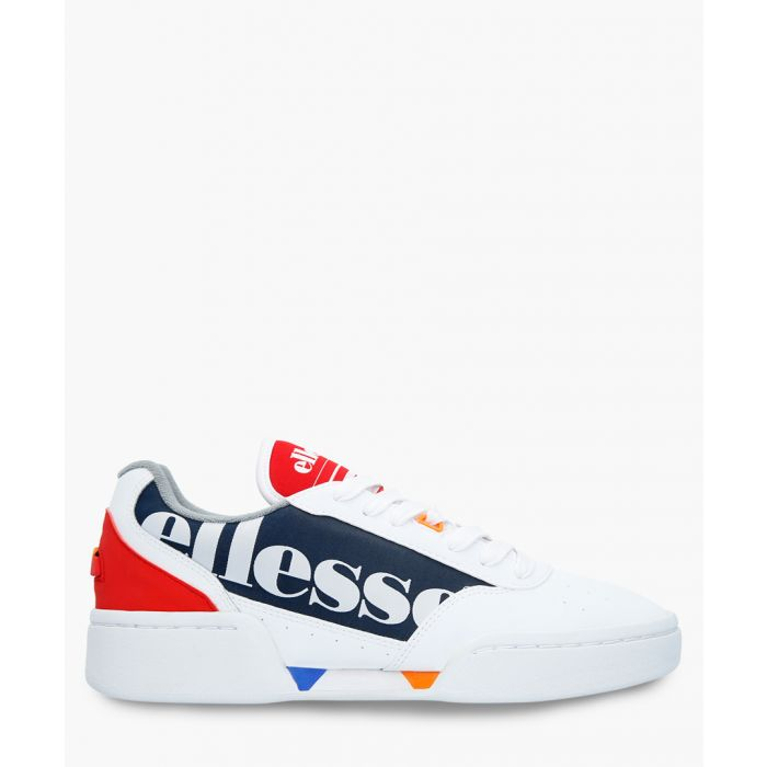 Image for Multi-coloured leather logo sneakers