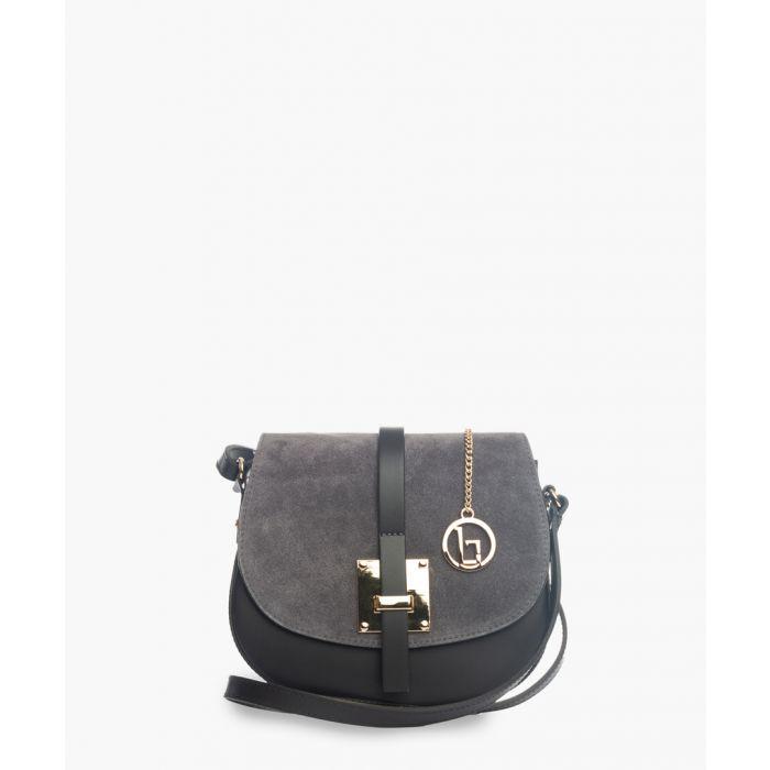 Image for Adda black leather crossbody