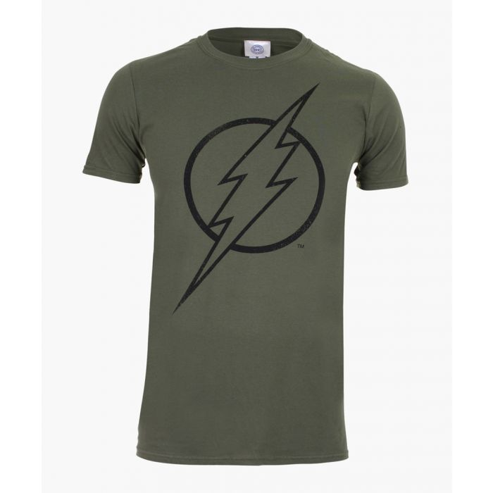Image for Flash logo t-shirts military green
