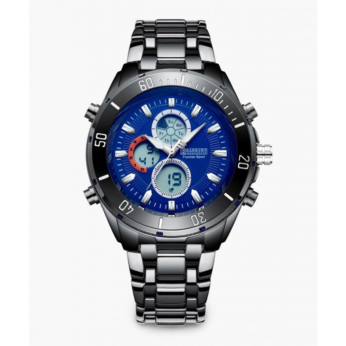 Image for Premier Sport blue stainless watch