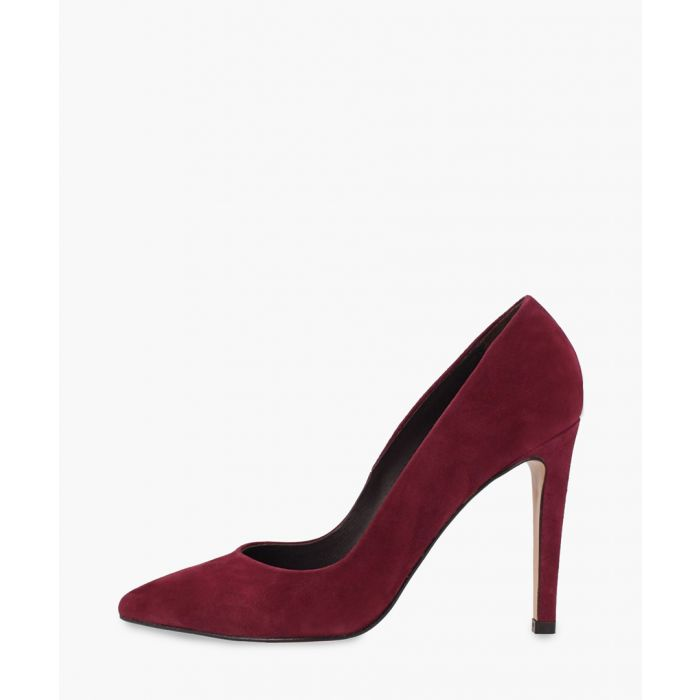 Image for Burgundy leather heels