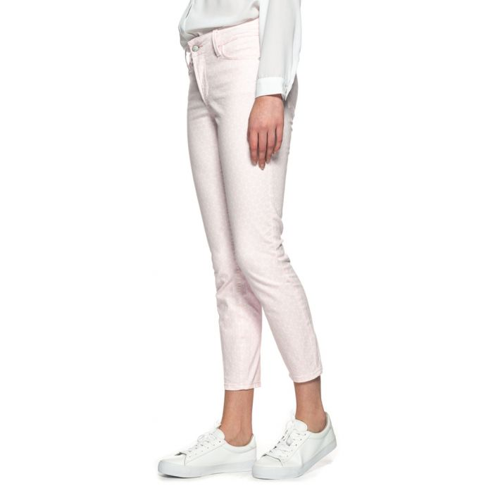 Image for Clarissa pink cotton blend jeans