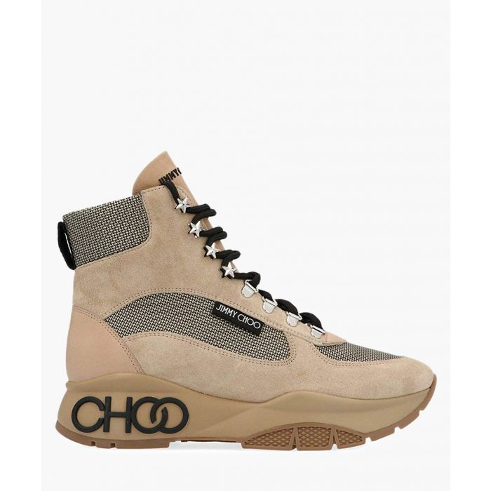 Image for Inca beige suede and mesh hiking boot