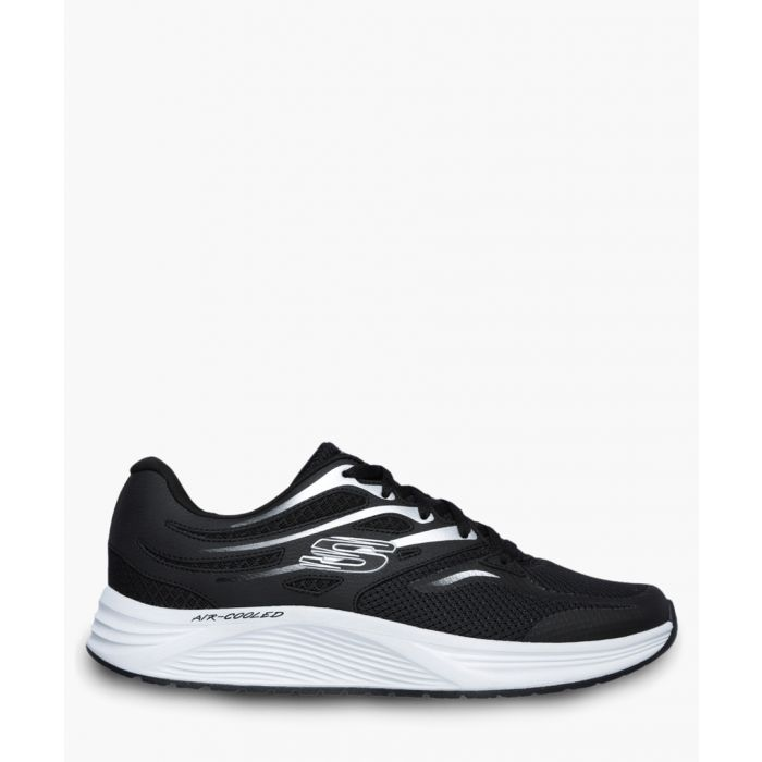 Image for Skyline black lace-up trainers