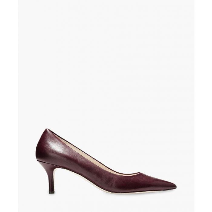 Image for Womens burgundy vesta heel