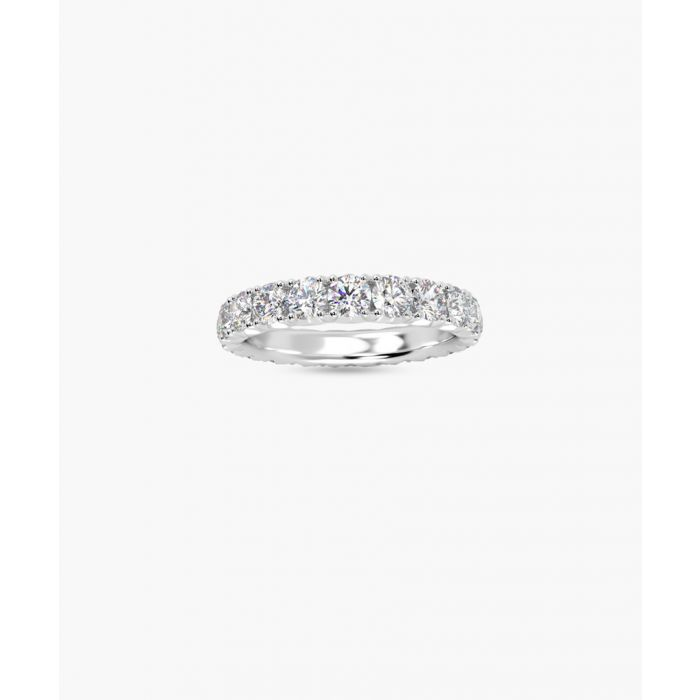 Image for 2.00ct diamond and platinum full eternity ring