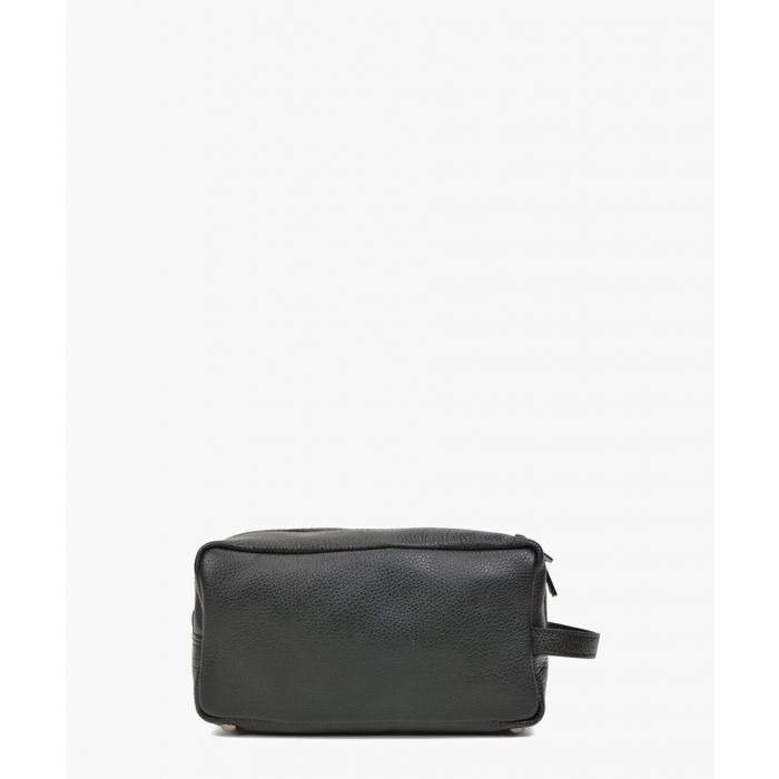 Image for Black leather pouch