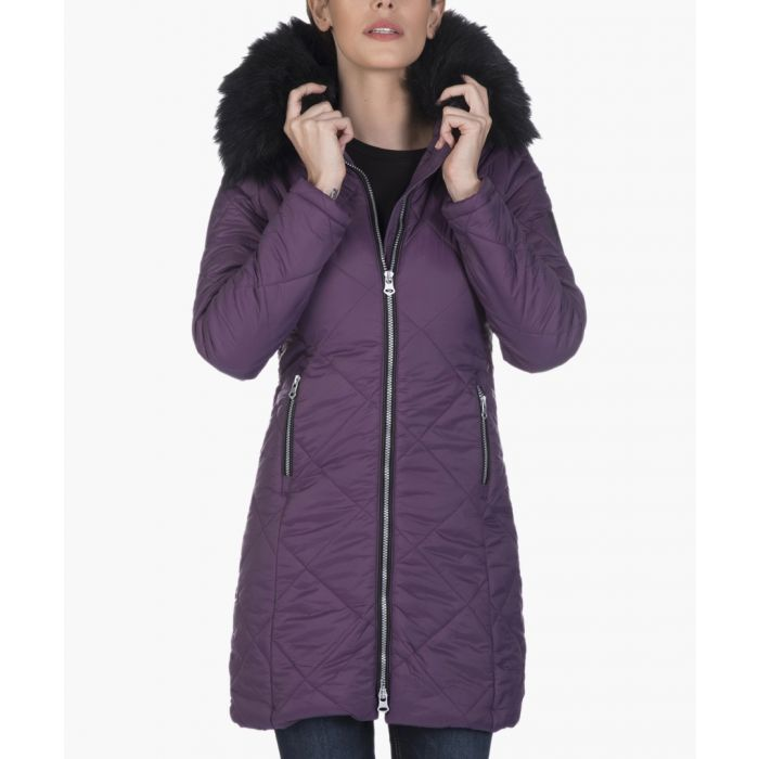 Image for Purple coat