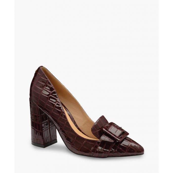 Image for Burgundy patent heels