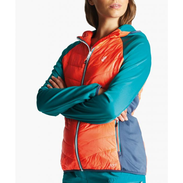 Image for Multi-coloured zip-up jacket