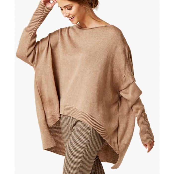 Image for Brown loose cut jumper