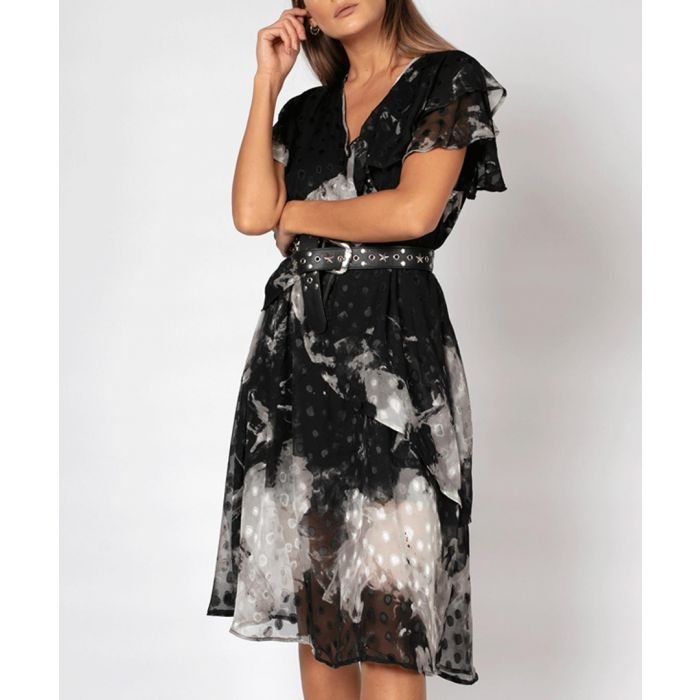 Image for Ace mist printed dress