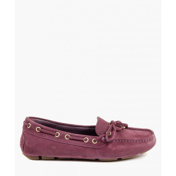 Image for Purple loafers