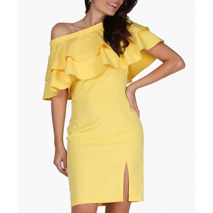 Image for Yellow Woven Dress