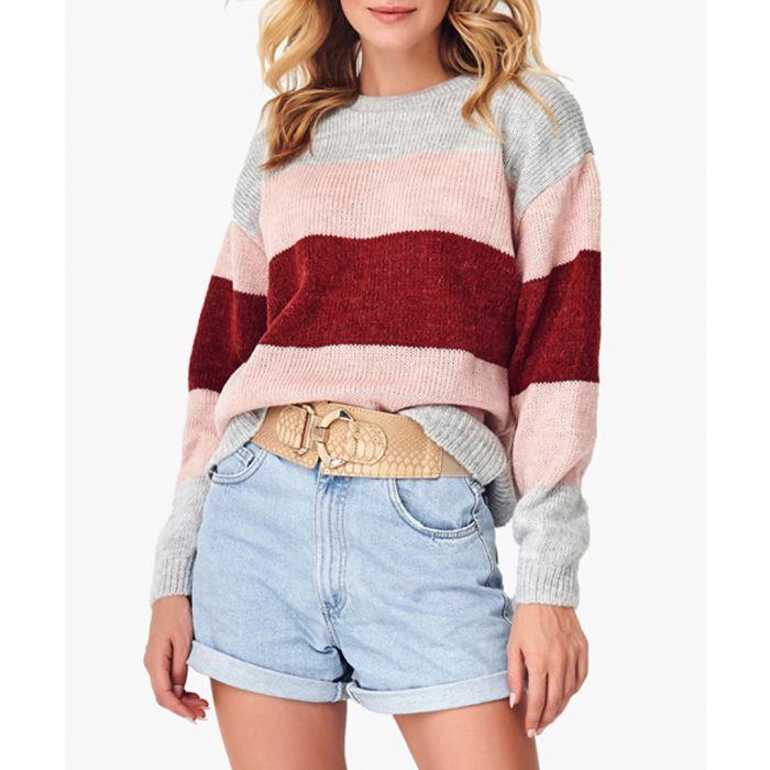 Image for Multi-coloured wool blend jumper
