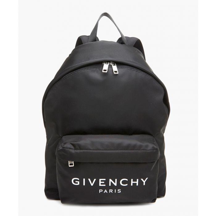 Image for Paris black backpack