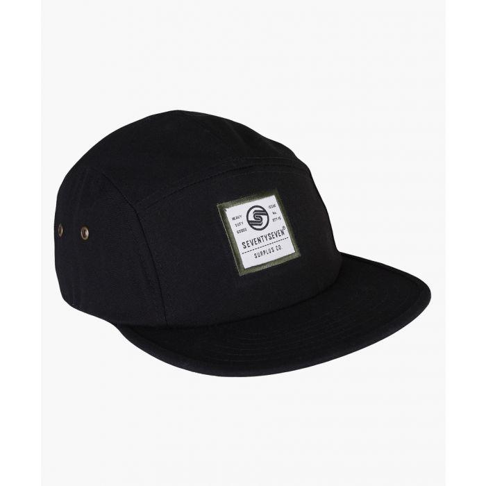 Image for Black canvas cap