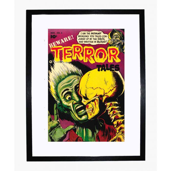 Image for Beware Terror Tales 06 framed print
