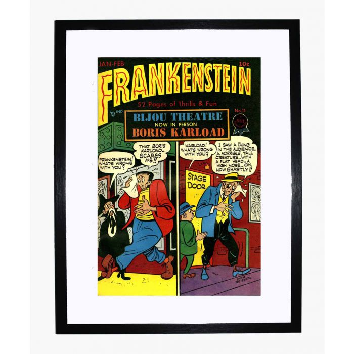 Image for Frankenstein 11 framed print