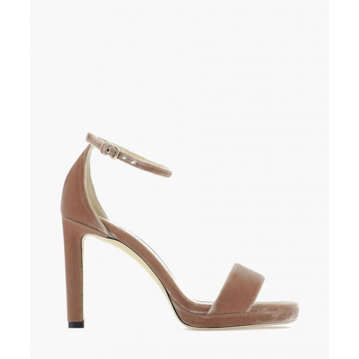 Image for Misty 100 pink suede sandals