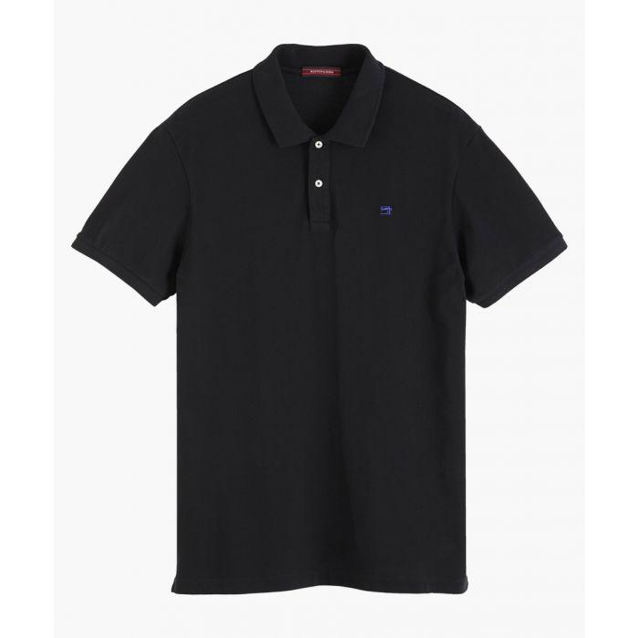Image for Multicoloured cotton pique polo shirt