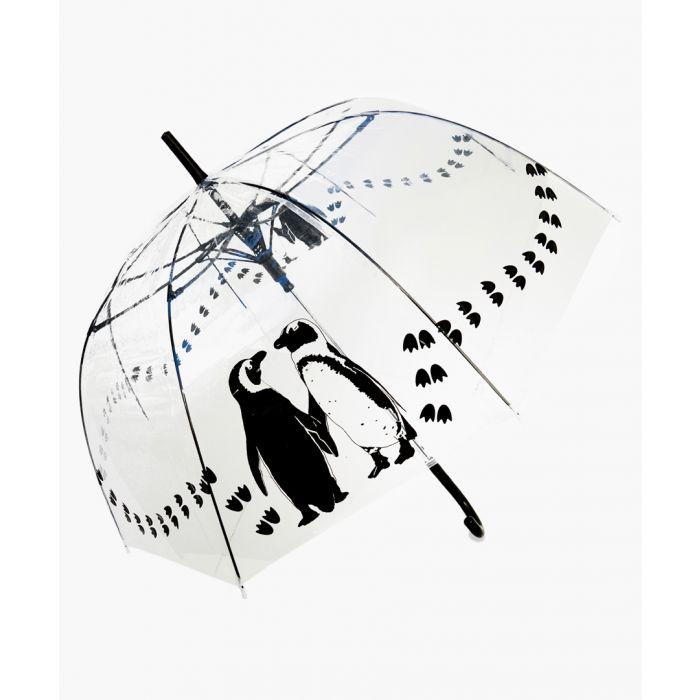 Image for Black penguins printed umbrella