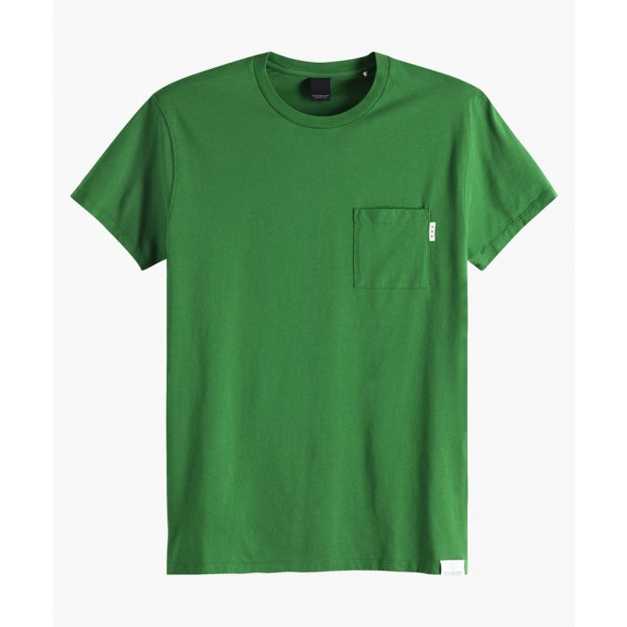 Image for Blauw seaglass green T-shirt