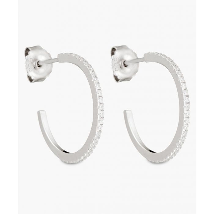 Image for Eclantante silver-plated earrings