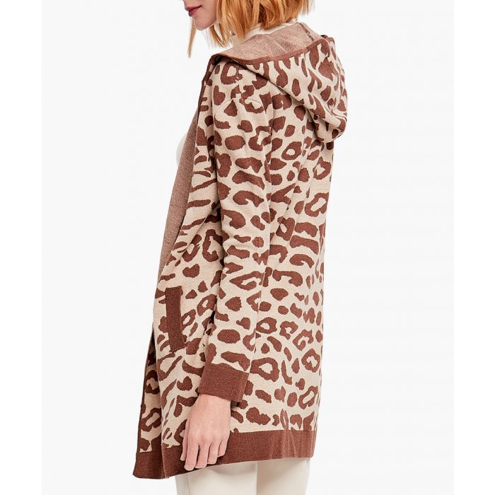 Image for Brown cashmere blend cardigan