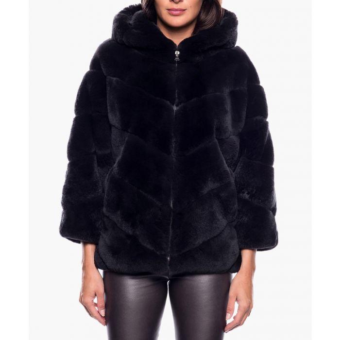 Image for Romance grey fur jacket