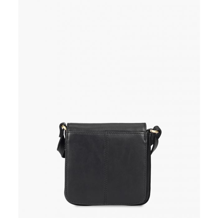 Image for Black leather small crossbody