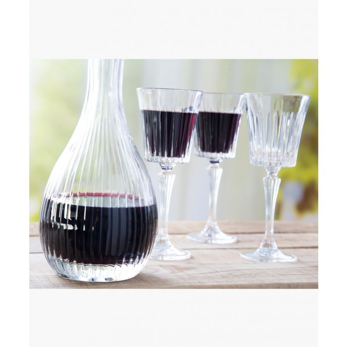 Image for Crystal glassware timeless round wine decanter