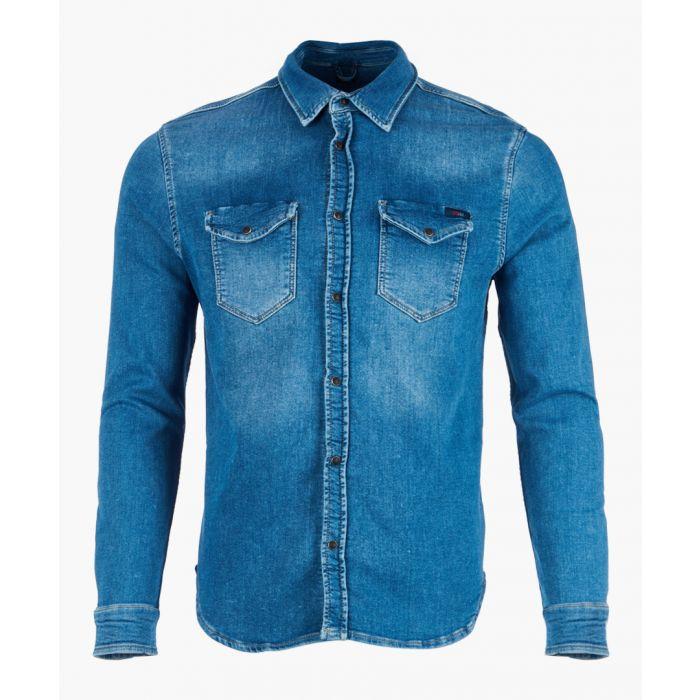 Image for Kumiko indigo shirt