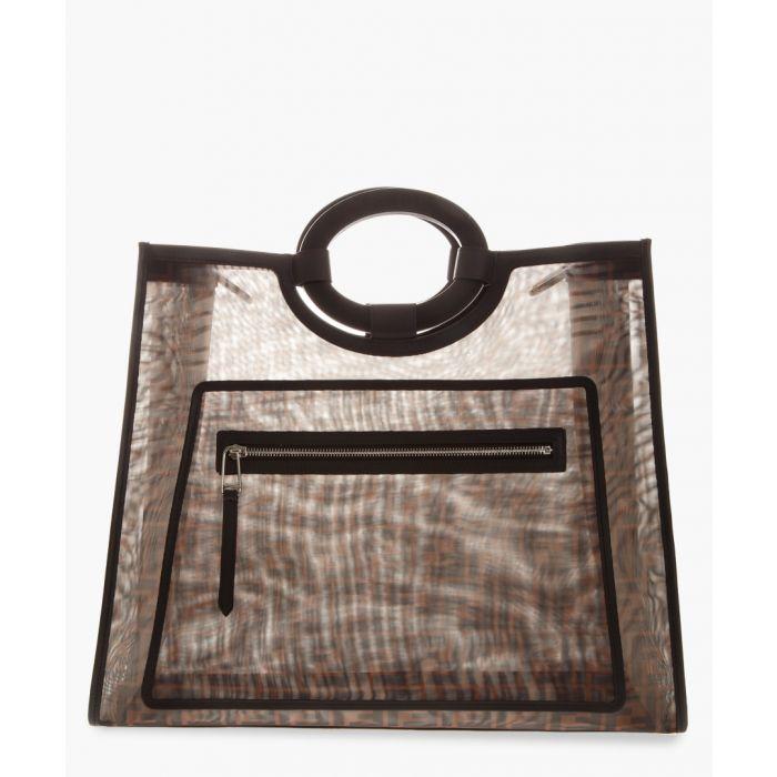 Image for Ff monogram brown mesh shopper