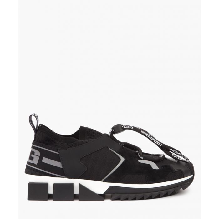 Image for Sorrento black trekking trainers