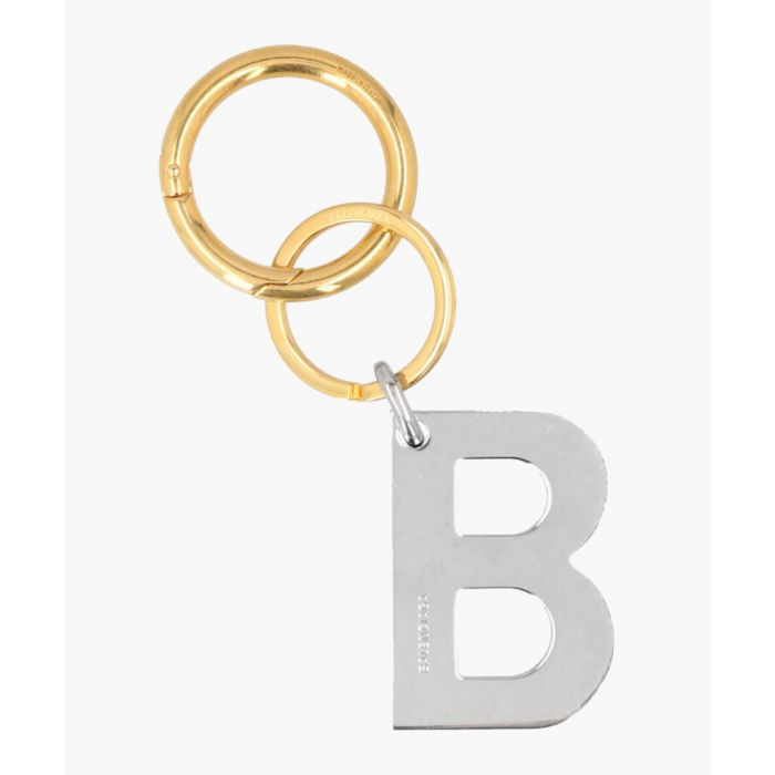 Image for B Chain multi-coloured keyring