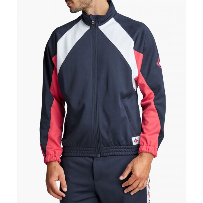 Image for Archive multi-coloured organic cotton blend track jacket