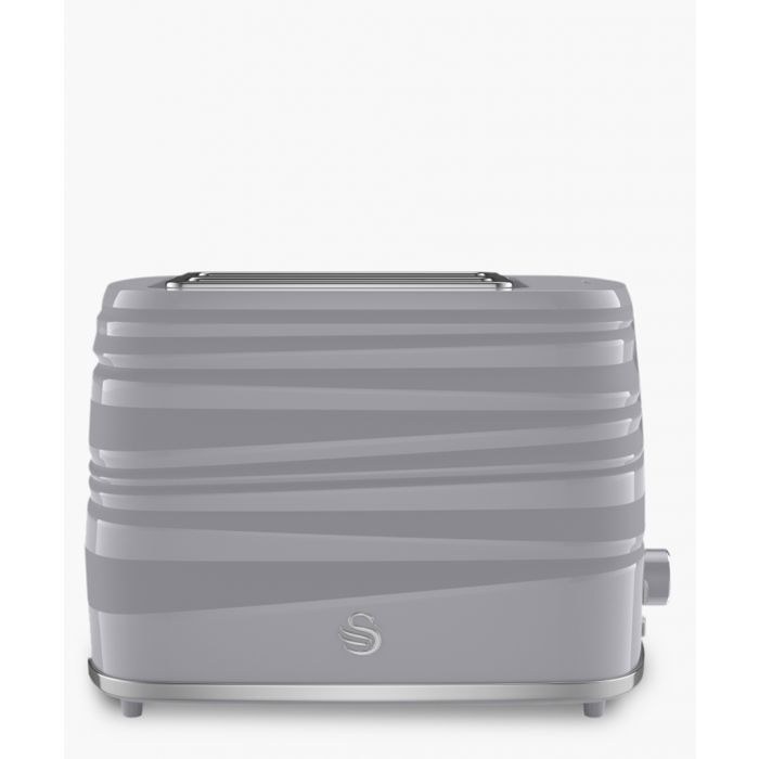 Image for Grey 2-slice toaster
