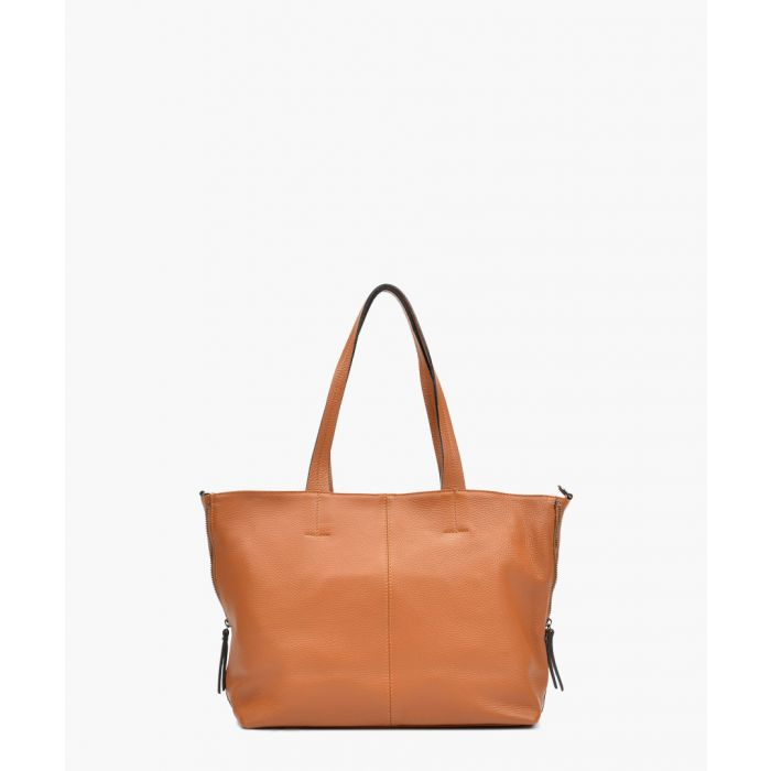 Image for Brown leather tote