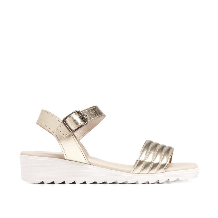 Image for Flip Flop Sandals Women Summer Silver Eva Lopez