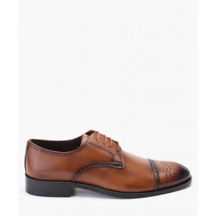 Image for Tan leather brogues