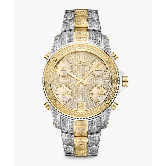 Image for Jet Setter two-tone gold and stainless steel watch
