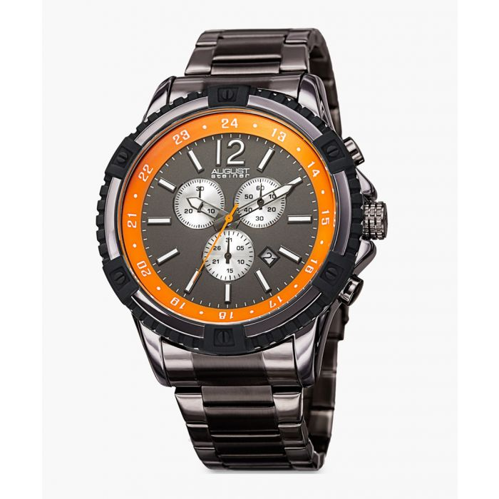 Image for Grey chronograph watch